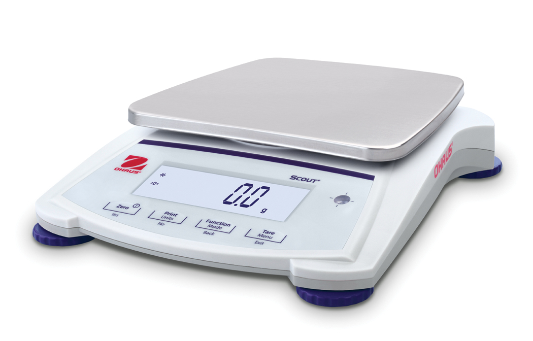 Ohaus Scout Jewellery SJX6201 6200g x 0.1g Portable Balance With Internal Calibration